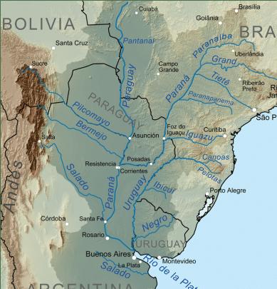 Uruguay en la Cuenca del Plata